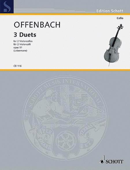 3 Duets Op. 51