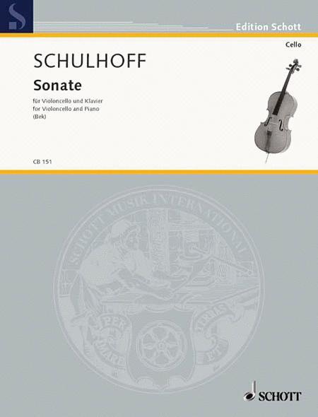 Cello Sonata WV 35