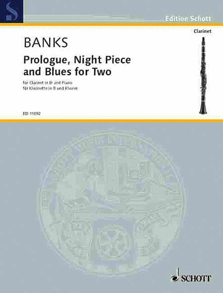 Prologue, Night Piece and Blues for Two