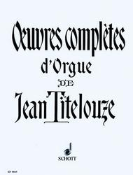 Oeuvres completes d'Orgue