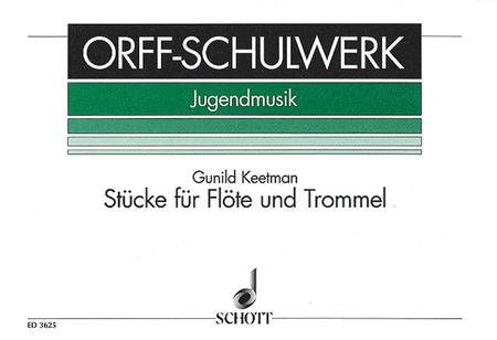Stucke fur Flote und Trommel - Book 1