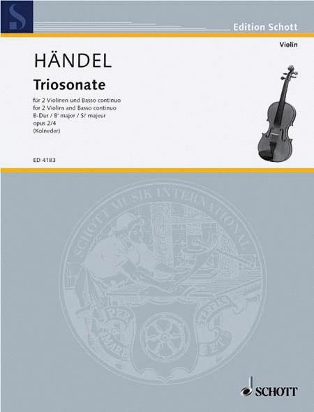 Nine Trio Sonatas op. 2 Nr. 4