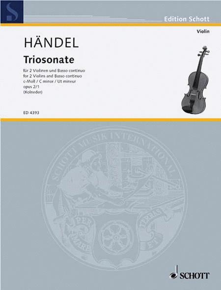 Nine Trio Sonatas op. 2 Nr. 1
