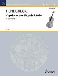 Capriccio per Siegfried Palm