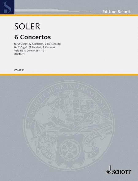 VI Conciertos de dos Organos obligados Band 1