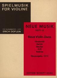 Neue Violin-Duos