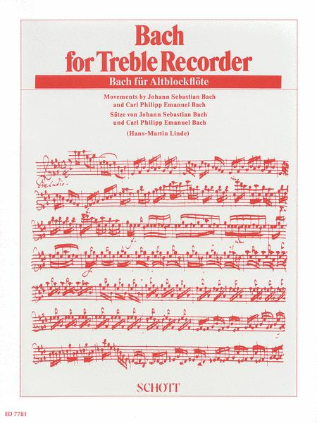 Bach for Treble Recorder