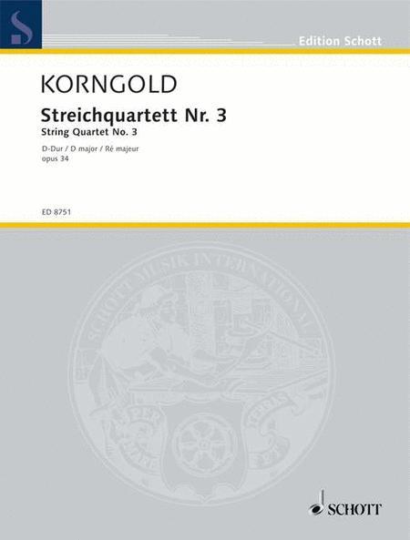 String Quartet No. 3 op. 34