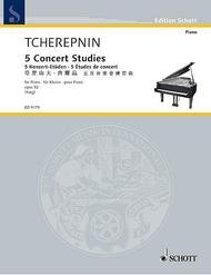 5 Concert Studies op. 52