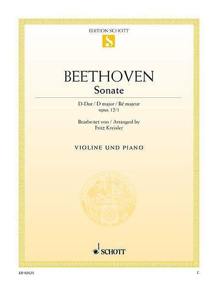 Sonata D major op. 12/1