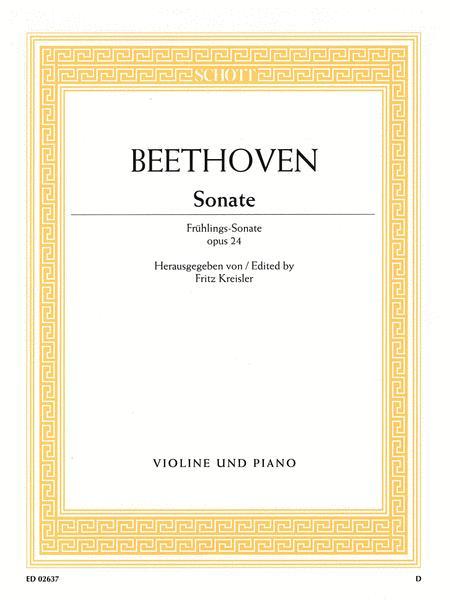 Sonata F major op. 24