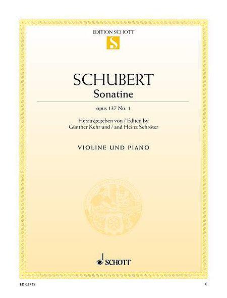 Sonatina D major op. 137/1 D 384