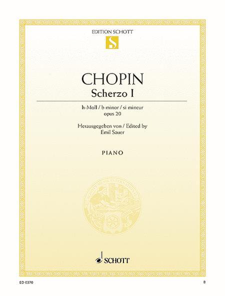 Scherzo B minor op. 20