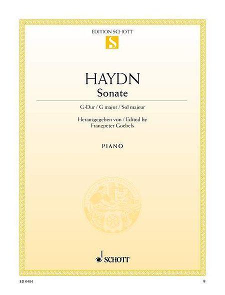 Sonata G major Hob. XVI:27