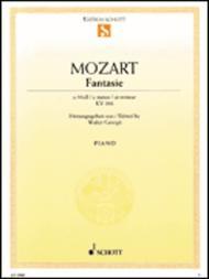 Fantasia No. 19 C Minor KV 396