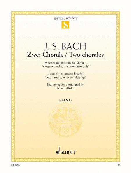 Two Chorales BWV 140 and 147