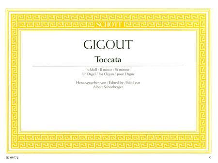 Toccata B minor