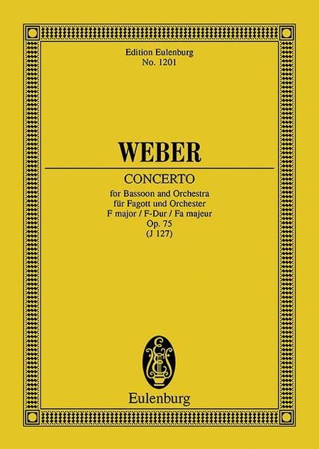 Concerto F major op. 75 JV 127