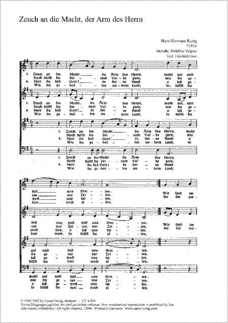 Kurig: Vier Kirchenliedsatze