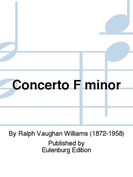 Concerto F minor