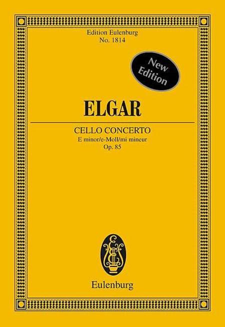 Cello Concerto E minor op. 85