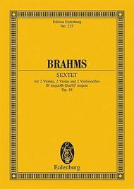 Sextet in B-flat Major, Op. 18