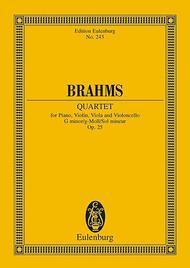 Piano Quartet G minor op. 25