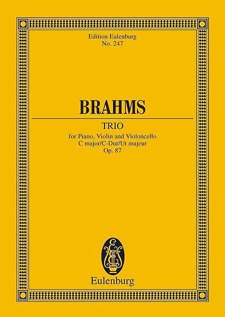 Piano Trio C major op. 87
