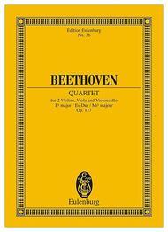 Strinq Quartet Eb major op. 127