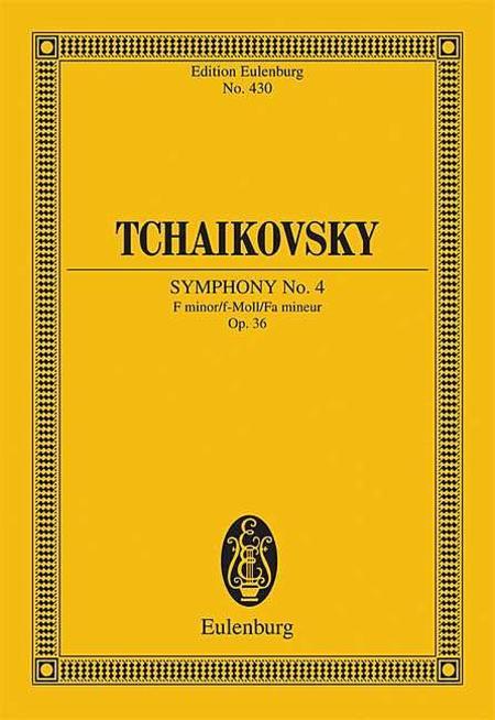 Symphony No. 4 F minor op. 36 CW 24