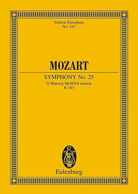 Symphony No. 25 in G Minor, K. 183