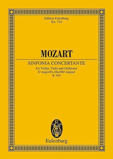 Sinfonia concertante Eb major KV 364
