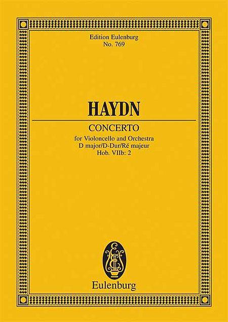 Concerto D major op. 101 Hob. VIIb: 2
