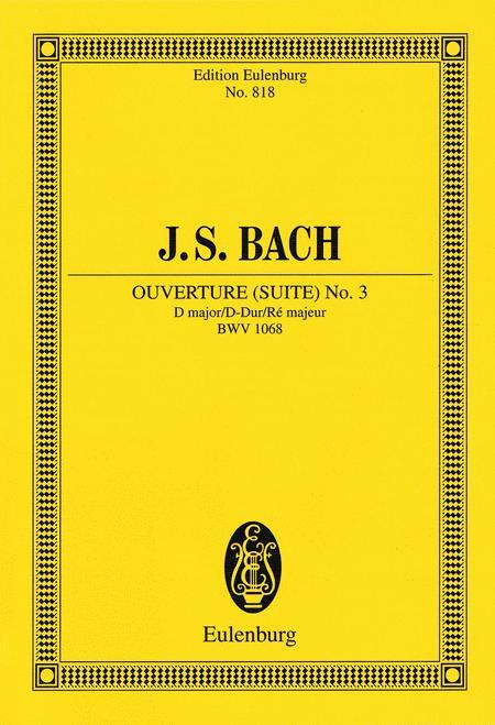 Overture (Suite) No. 3 BWV 1068
