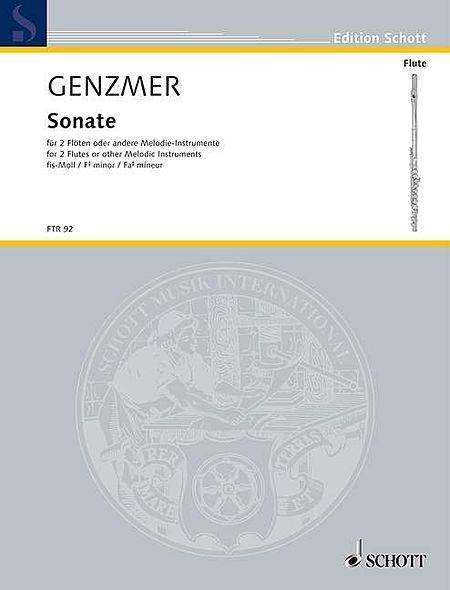 Sonata F# minor GeWV 266