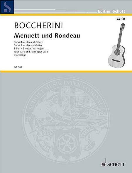 Menuett aus dem Streichquintett E-Dur und Rondeau aus dem Streichquintett C major op. 13/5 und 28/4