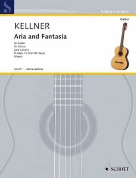 Aria and Fantasia D major
