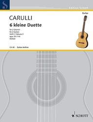 6 little Duets op. 34 Vol. 2
