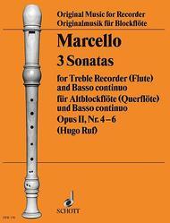 3 Sonatas op. 2 Vol. 2