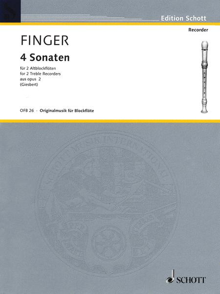 4 Sonatas Aus Op. 2