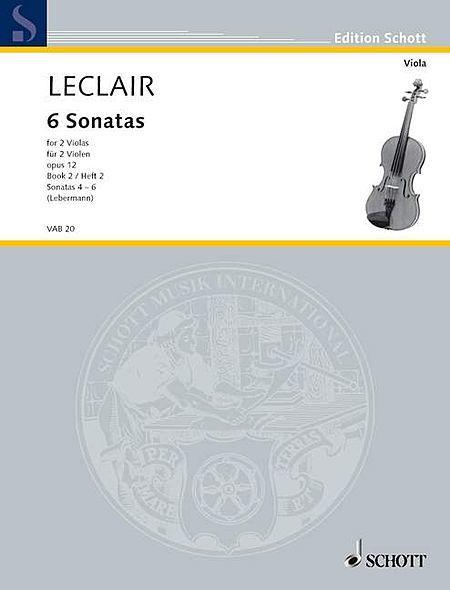 Six Sonatas op. 12 Heft 2