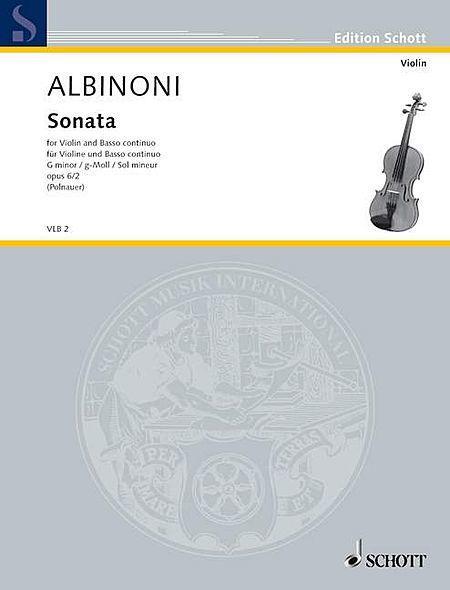 Sonata G Minor op. 6/2