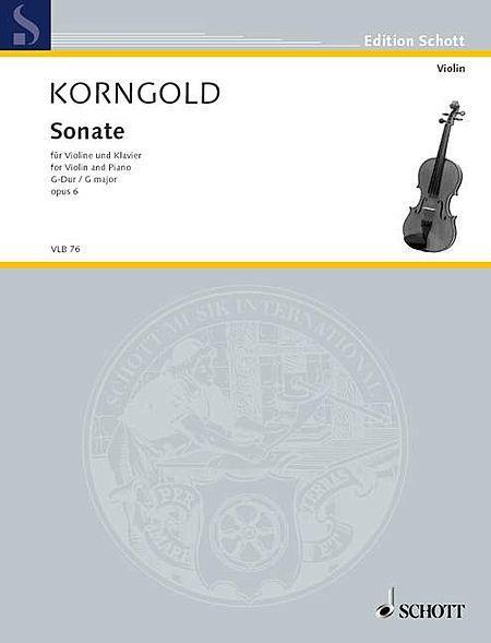 Sonata in G Major, Op. 6