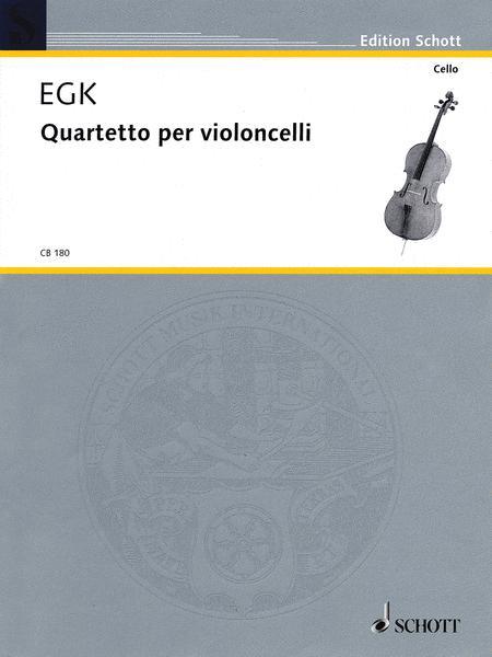 Quartet for violoncellos