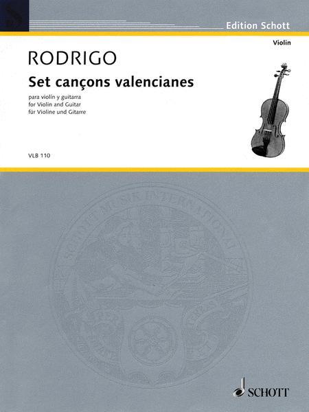 Set cancons valencianes