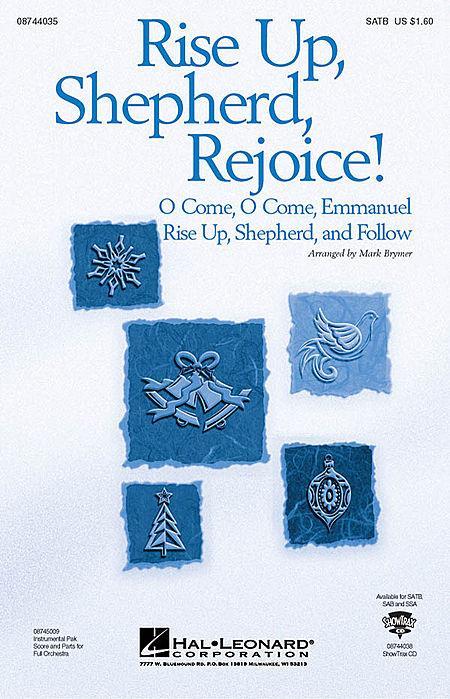 Rise Up, Shepherd, Rejoice! - ShowTrax CD