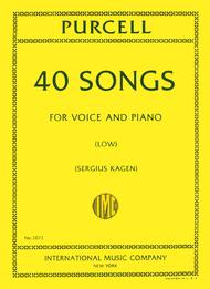 Forty Songs. Complete in One Volume - Low