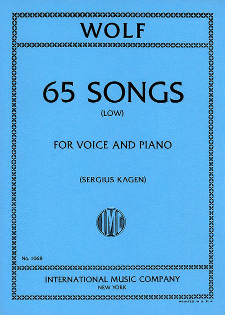 65 Songs. Selected by SERGIUS KAGEN - Low
