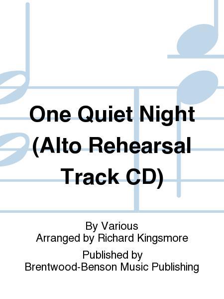 One Quiet Night (Alto Rehearsal Track CD)