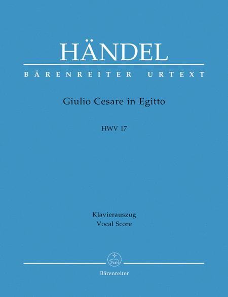 Giulio Cesare in Egitto (Julius Casar in agypten) HWV 17
